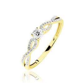 Bague Solitaire Livia Or Jaune Diamant - Bagues avec pierre Femme | Histoire d'Or