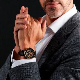 Montre Montignac S Automatique Noir - Montres Homme   Histoire d'Or
