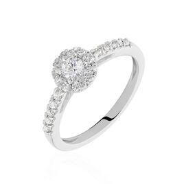 Bague Urbane 0 Blanc Diamant - Bagues avec pierre Femme   Histoire d'Or