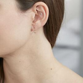 Créoles Muses Flexibles Or Jaune - Boucles d'oreilles créoles Femme | Histoire d'Or