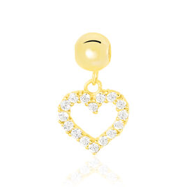 Charms Lhea Or Jaune Oxyde De Zirconium - Pendentifs Coeur Femme | Histoire d'Or