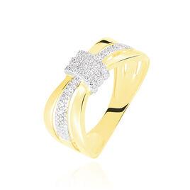 Bague Lucilla Or Jaune Diamant - Bagues avec pierre Femme | Histoire d'Or