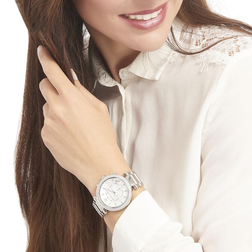 Montre Michael Kors Parker Argent - Montres tendances Femme | Histoire d'Or