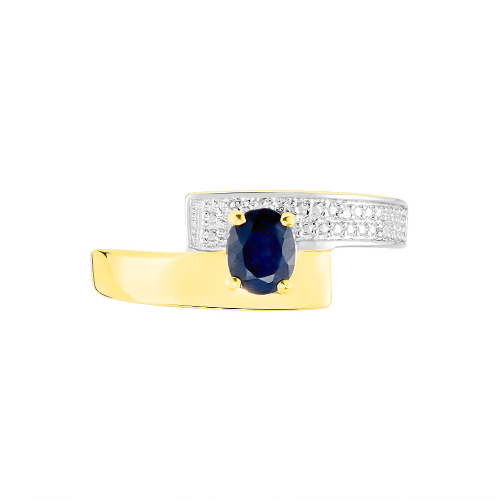 Bague Taila Or Jaune Saphir