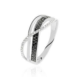 Bague Emilie Or Blanc Diamant - Bagues avec pierre Femme | Histoire d'Or