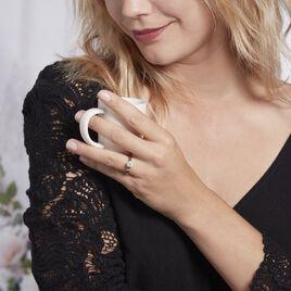 Bague Solitaire Natalia Or Jaune Diamant Synthetique - Bagues solitaires Femme   Histoire d'Or