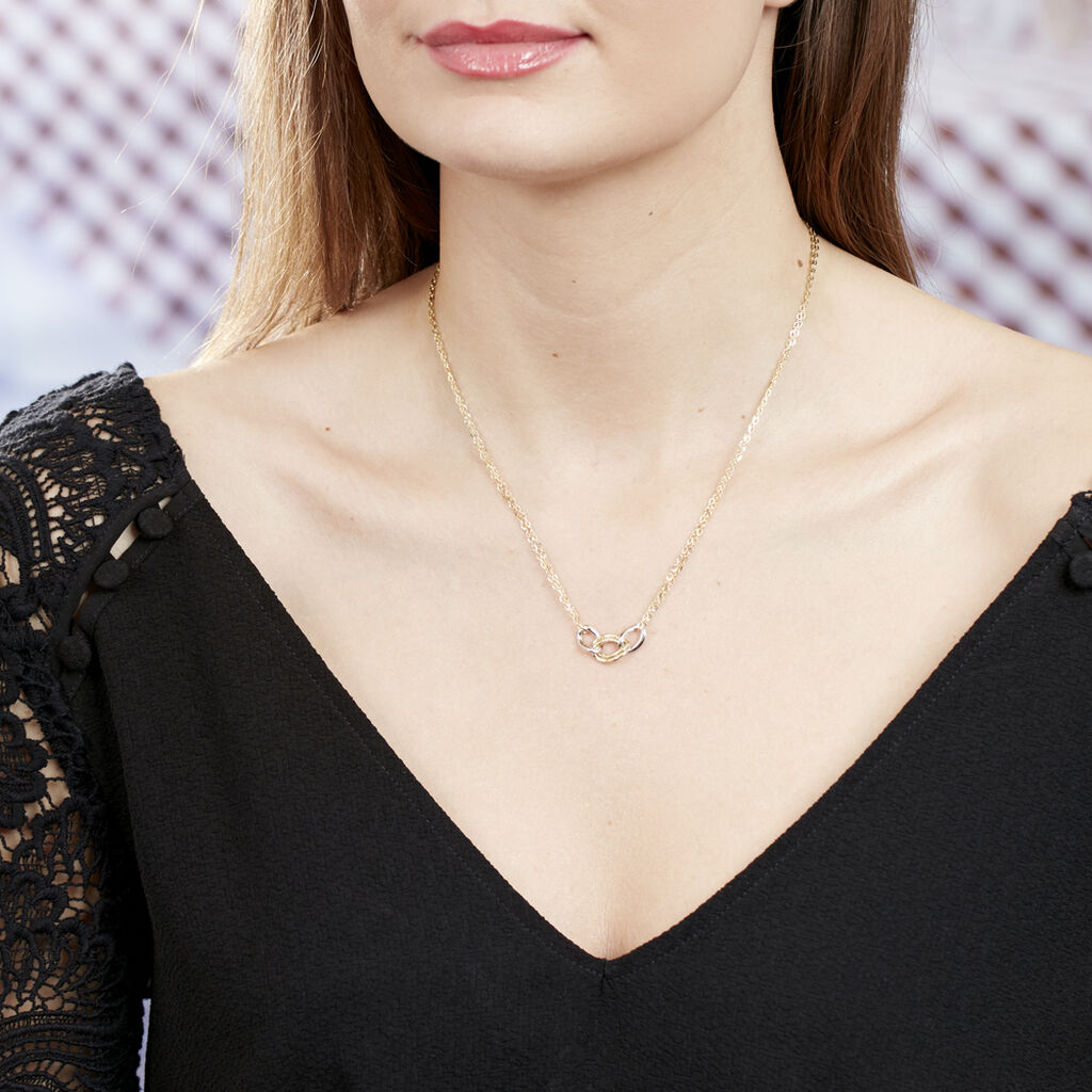 Collier Louisa Or Bicolore - Bijoux Femme | Histoire d'Or