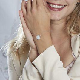 Bracelet Corazon1 Argent Blanc Oxyde De Zirconium - Bracelets fantaisie Femme | Histoire d'Or