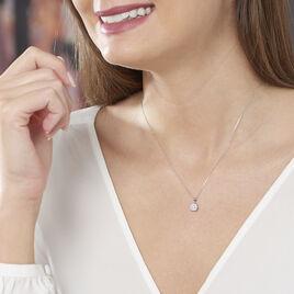 Collier Grace Or Blanc Diamant - Bijoux Femme | Histoire d'Or