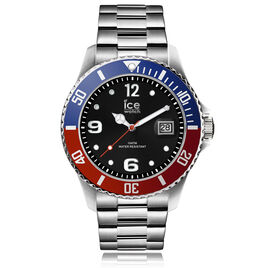 Montre Ice Watch Steel Noir - Montres tendances Homme   Histoire d'Or