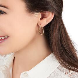 Créoles Hellen Huit Fil Rond Or Jaune - Boucles d'oreilles créoles Femme | Histoire d'Or