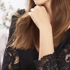 Bracelet Darleen Or Jaune - Bracelets Coeur Femme | Histoire d'Or