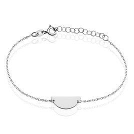 Bracelet Sukeyna Argent Blanc - Bracelets fantaisie Femme   Histoire d'Or