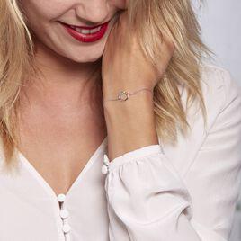 Bracelet Argent Rhodié Giustino Oxydes De Zirconium - Bracelets fantaisie Femme | Histoire d'Or