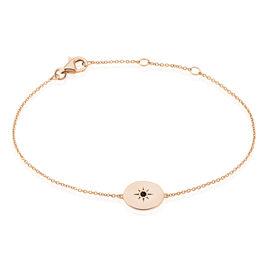 Bracelet Argent Rose Oxyde De Zirconium - Bracelets fantaisie Femme | Histoire d'Or