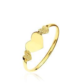 Bague Amalia Or Jaune Coeurs  - Bagues Coeur Femme | Histoire d'Or