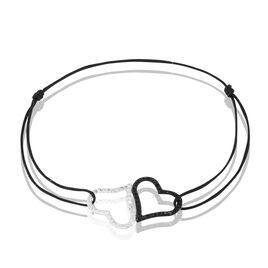 Bracelet Monie Or Jaune Strass - Bracelets Coeur Femme | Histoire d'Or