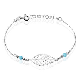 Bracelet Zoe Argent Rhodie - Bracelets fantaisie Femme | Histoire d'Or