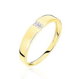 Bague Soha Or Jaune Diamant - Bagues avec pierre Femme | Histoire d'Or