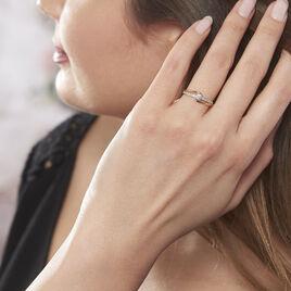 Bague Solitaire Armelle Or Jaune Oxyde De Zirconium - Bagues solitaires Femme   Histoire d'Or
