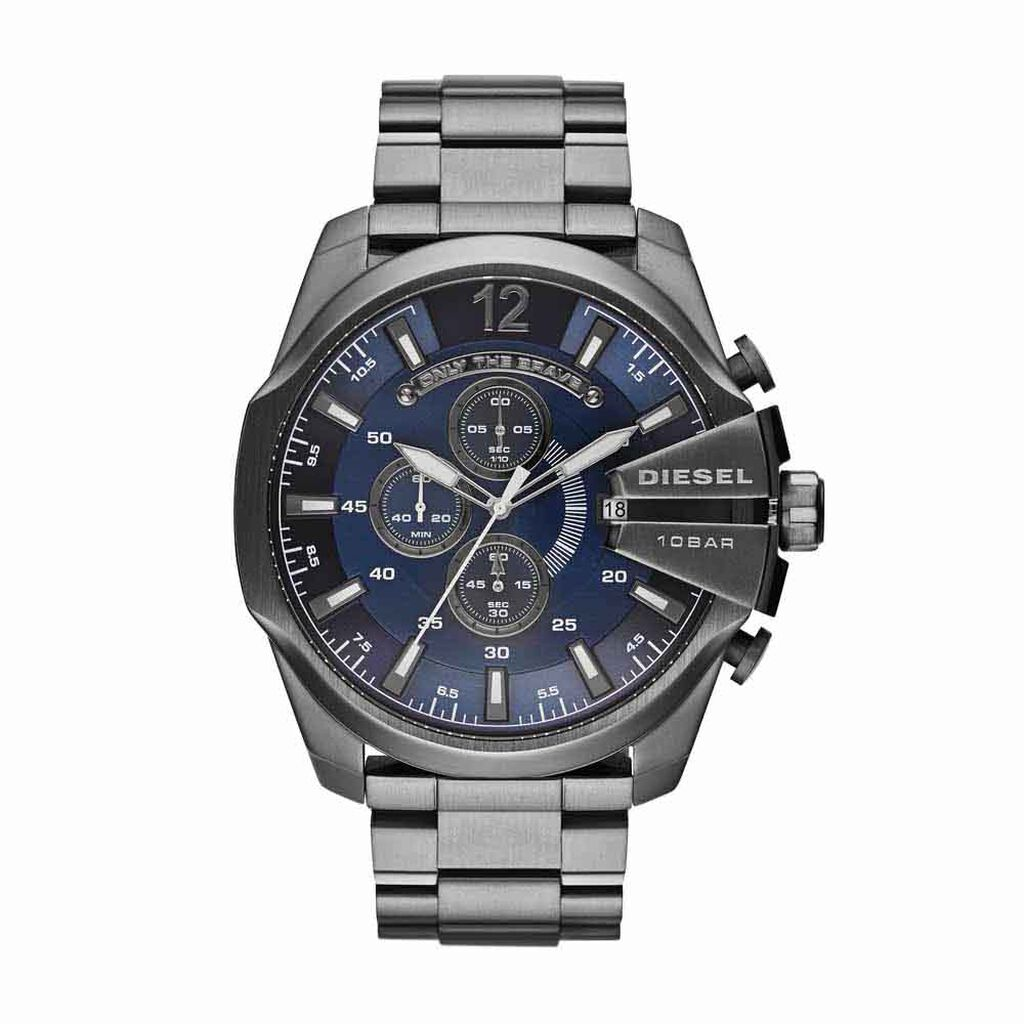 Montre Diesel Mega Chief Bleu