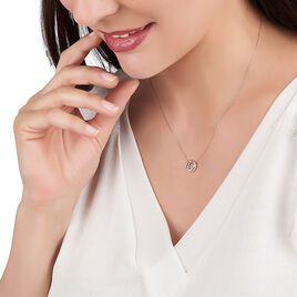 Collier Absolu Or Bicolore Diamant - Bijoux Femme   Histoire d'Or