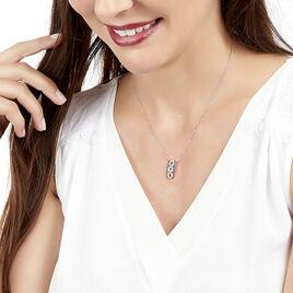 Collier Leena Or Blanc Diamant - Bijoux Femme | Histoire d'Or