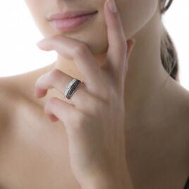 Bague Or Blanc Or Blanc Diamant - Bagues avec pierre Femme | Histoire d'Or