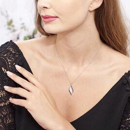 Collier Averill Argent Blanc Oxyde De Zirconium - Colliers fantaisie Femme | Histoire d'Or