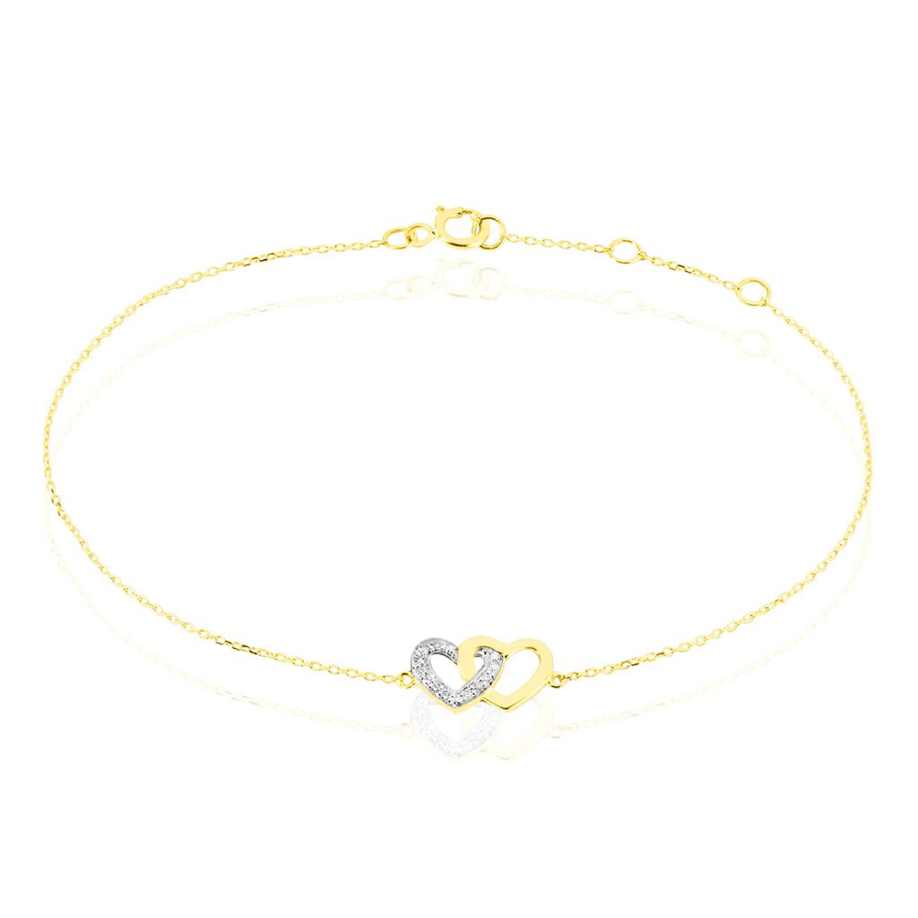 Bracelet Brunehaut Or Jaune Diamant