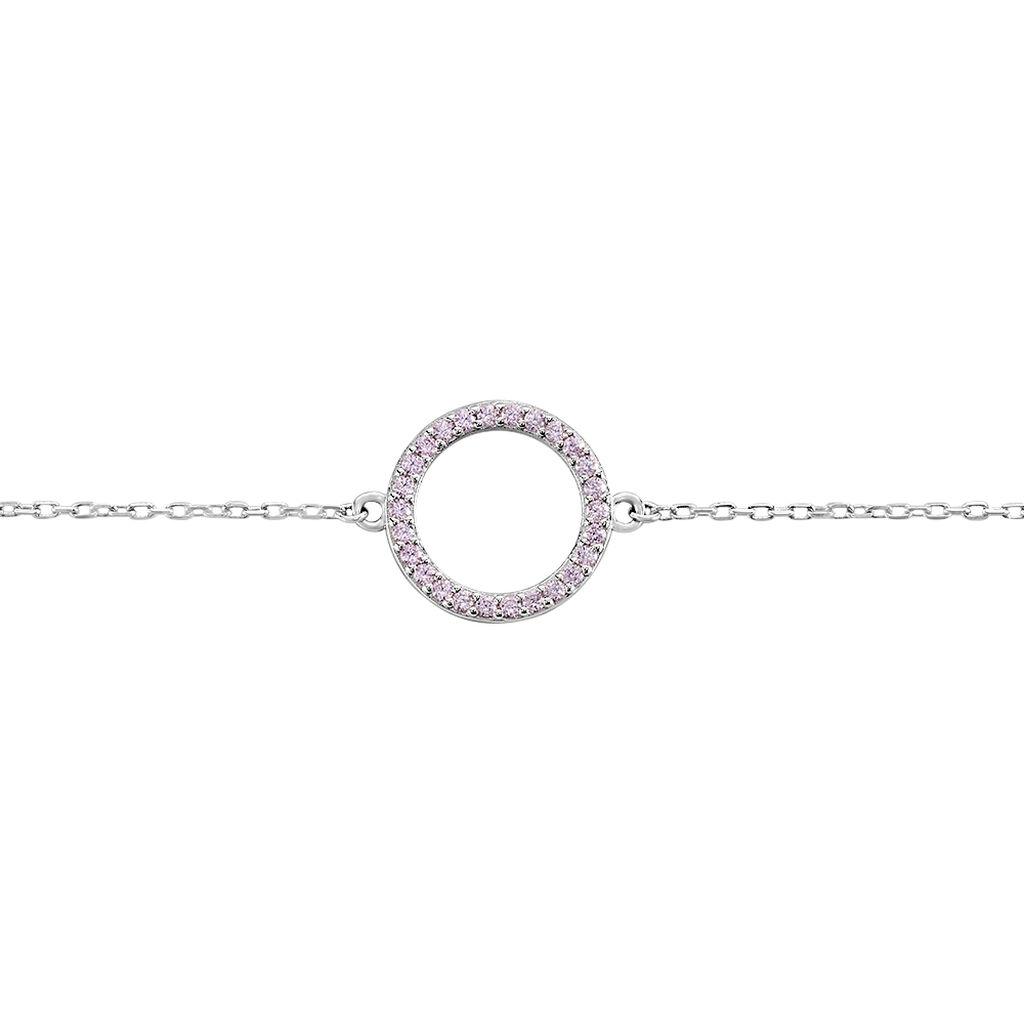 Bracelet Ambroisie Argent Blanc Oxyde De Zirconium - Bracelets fantaisie Femme | Histoire d'Or