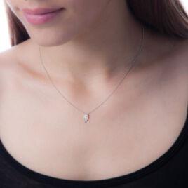 Collier Eternite Or Blanc Diamant - Bijoux Femme | Histoire d'Or