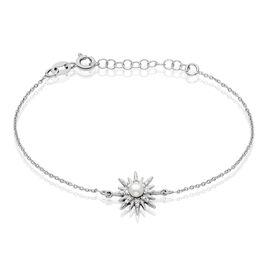 Bracelet Blanca Argent Blanc Perle De Culture - Bijoux Etoile Femme | Histoire d'Or