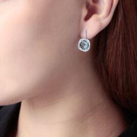 Boucles D'oreilles Lucy Pendantes Or  - Clous d'oreilles Femme | Histoire d'Or