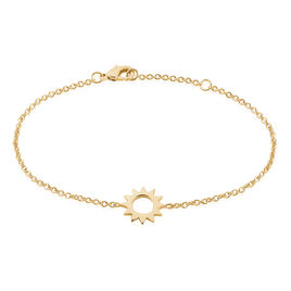 Bracelet Plaque Or Adelinda Soleil - Bracelets fantaisie Femme | Histoire d'Or