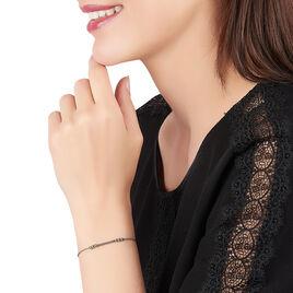 Bracelet Eucleia Argent Blanc - Bracelets fantaisie Femme | Histoire d'Or