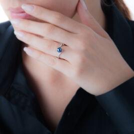 Bague Anais Or Blanc Perle De Culture Et Oxyde De Zirconium - Bagues solitaires Femme | Histoire d'Or