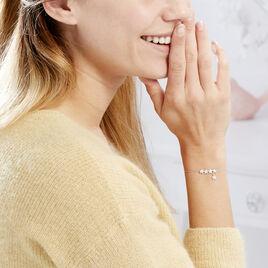Bracelet Laetizia Constellation Argent Blanc Oxyde De Zirconium - Bijoux Etoile Femme   Histoire d'Or