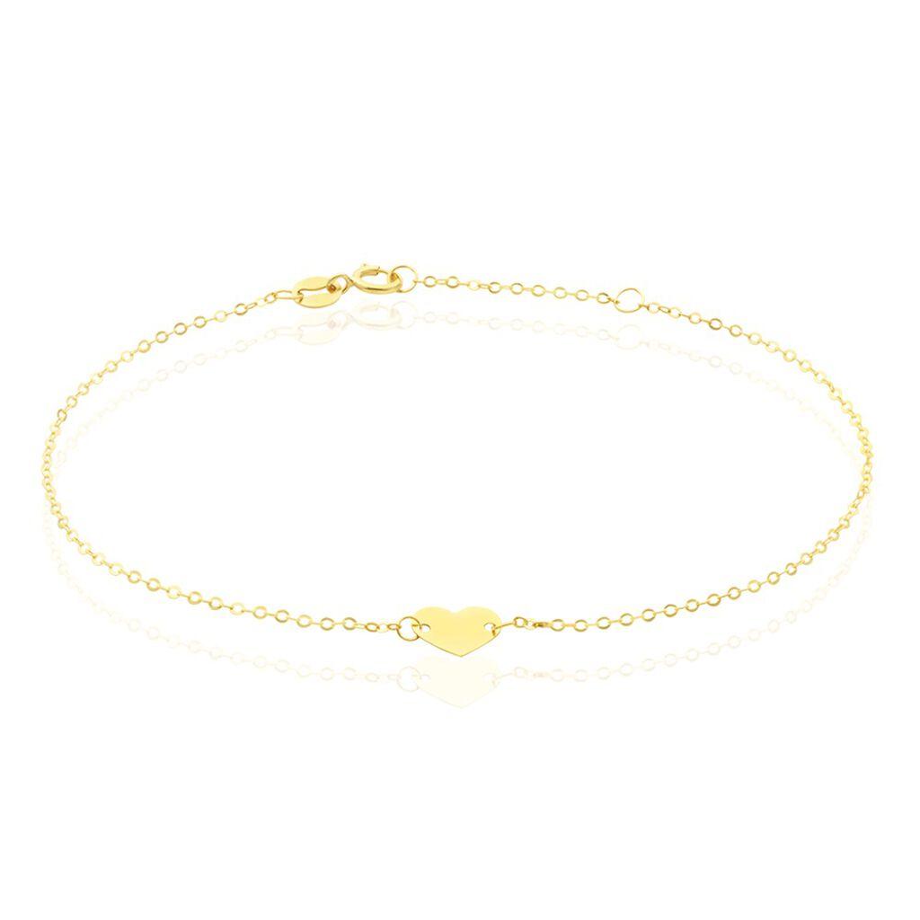 Bracelet Anjie Or Jaune - Bracelets Coeur Femme | Histoire d'Or