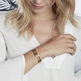 Bracelet Wilna Acier Jaune - Bracelets fantaisie Femme | Histoire d'Or