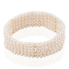 Bracelet Giacomina Or Jaune Perle De Culture - Bijoux Femme   Histoire d'Or