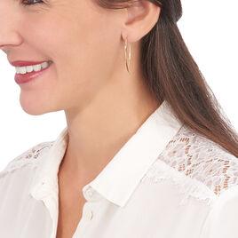 Créoles Helle Amande Or Jaune - Boucles d'oreilles créoles Femme   Histoire d'Or