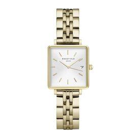 Montre Rosefield The Mini Boxy Blanc - Montres tendances Femme   Histoire d'Or