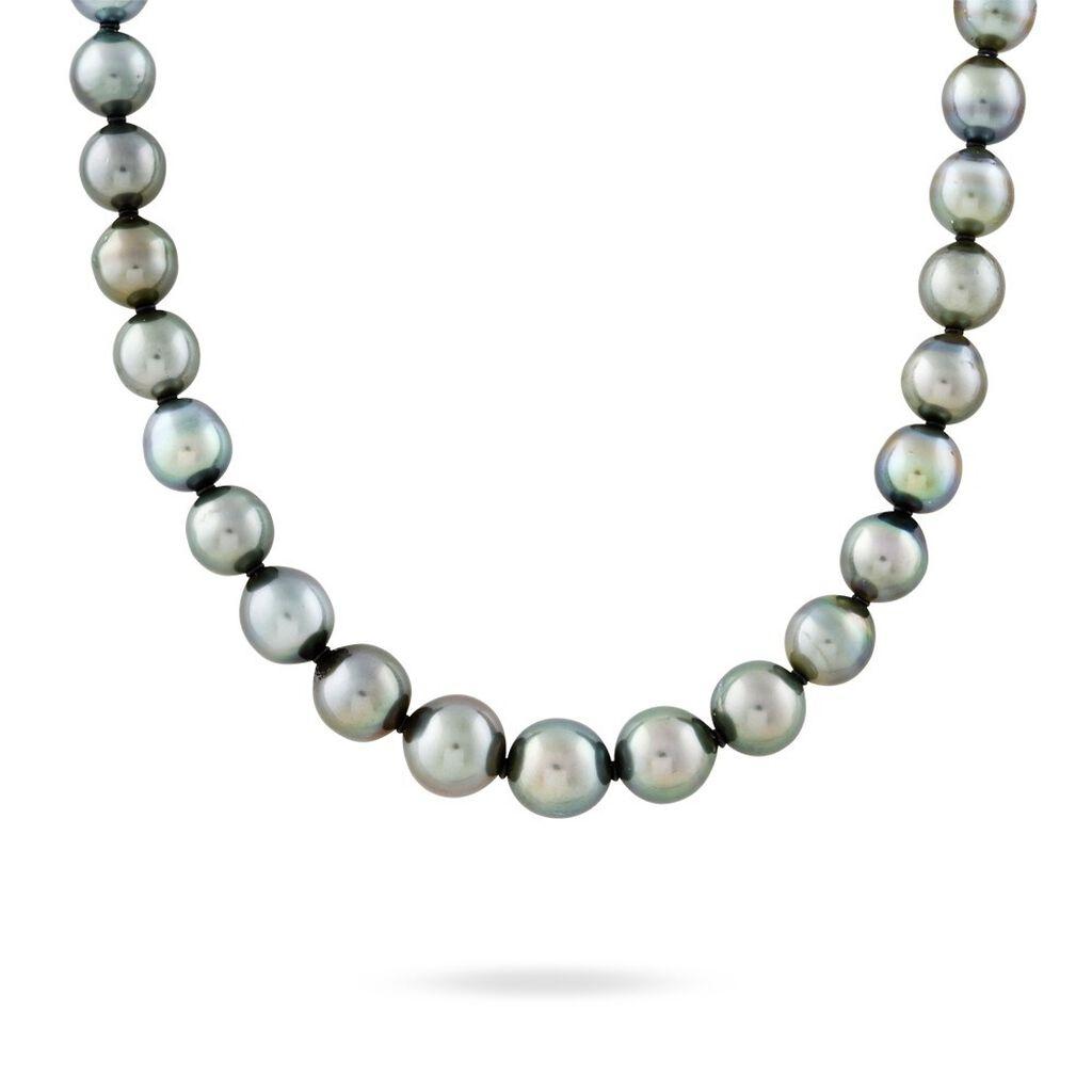 Collier Cerclee Or Jaune Perle De Culture De Tahiti - Bijoux Femme | Histoire d'Or