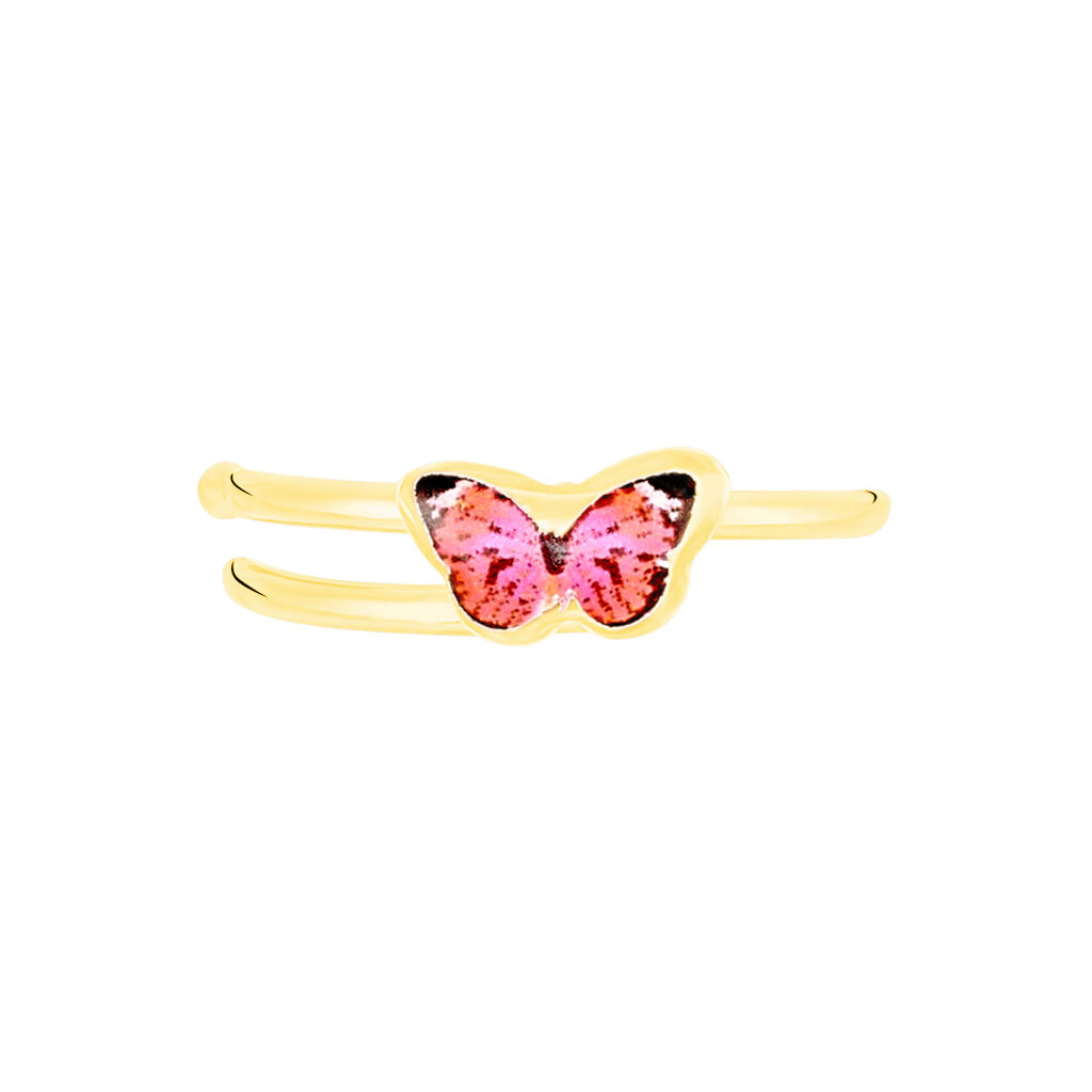 Bague Sulivia Papillon Or Jaune - Bagues Papillon Enfant | Histoire d'Or