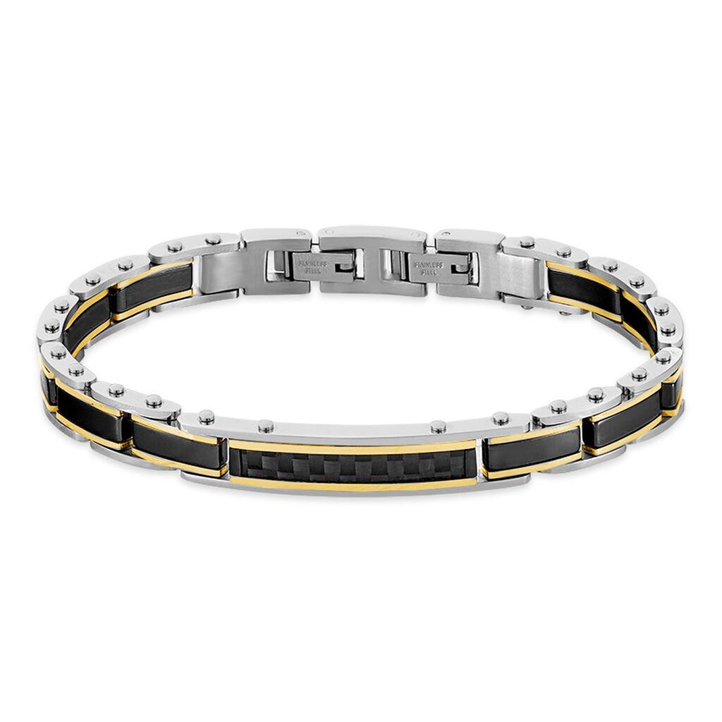 Bracelet Nuku Acier Blanc - Bijoux Homme | Histoire d'Or