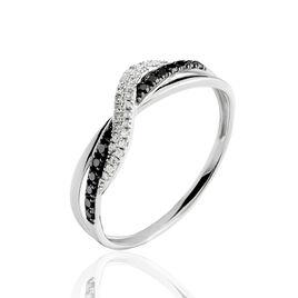 Bague Valencia Or Blanc Diamant - Bagues avec pierre Femme | Histoire d'Or