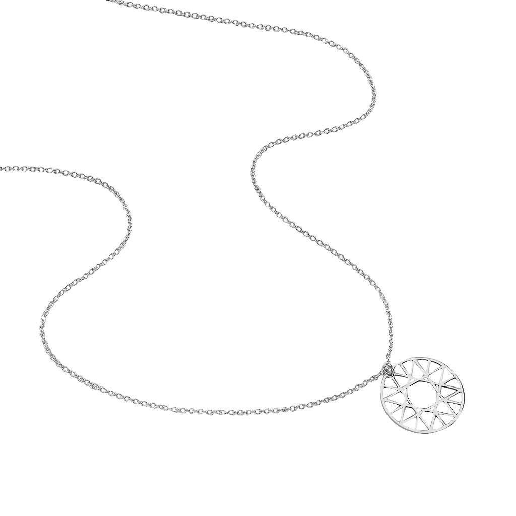 Collier Raika Argent Blanc - Colliers fantaisie Femme | Histoire d'Or