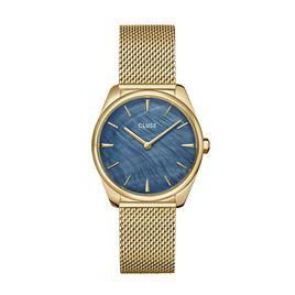 Montre Feroce Bleu Nacre - Montres tendances Femme | Histoire d'Or