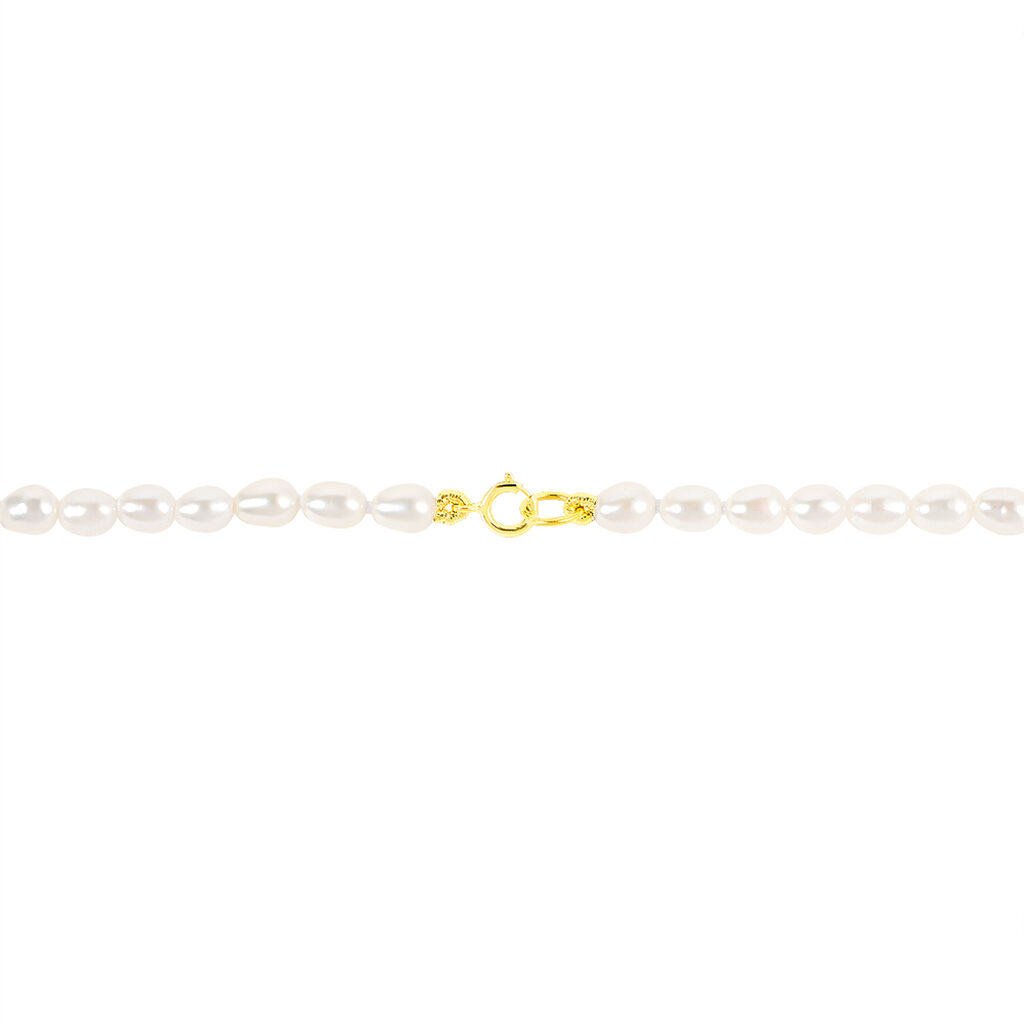 Collier Alceste Or Jaune Perle De Culture - Bijoux Femme | Histoire d'Or